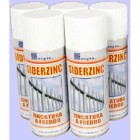 SIDERZINC Cold Galvanizing Compound for Corrosion Control